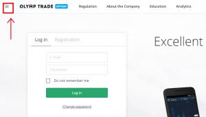 cách đăng ký olymp trade tài khoản demo