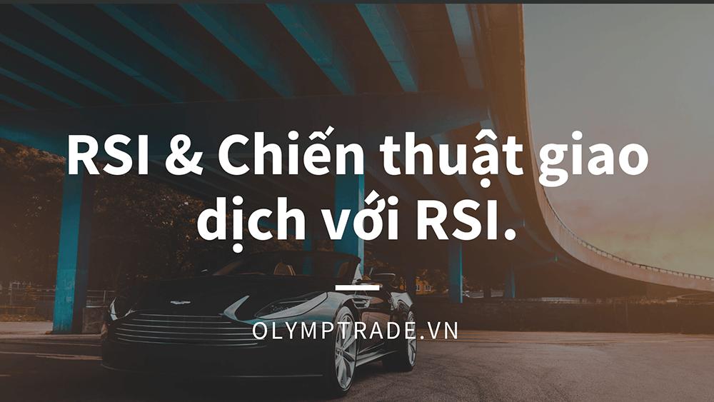 Giao dịch Olymp Trade với chỉ báo RSI